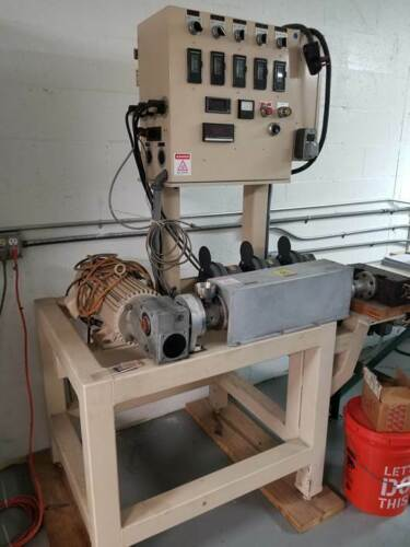 """1"""" Plastic Extruder Used/Lab Line Low Hours!"""
