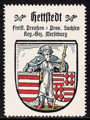 42729/ Reklamemarke - Kaffee Hag - Wappen von Hettstedt / Prov. Sachsen