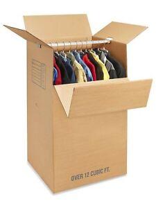 Double Wall Wardrobe Moving Box Kit
