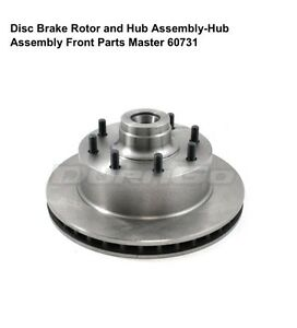 Dodge front rotor hub assy's & pads