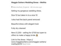 Maggie Sottero Wedding Dress - melitta