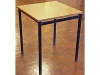 Lot 20 Small Tables, 61x61x90cm, Office, School, Dining Room, Cafe, Canteen, Meeting Room