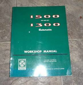 LEYLAND******1500 WORKSHOP MANUAL Wentworthville Parramatta Area Preview
