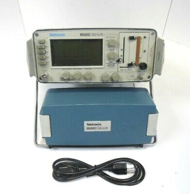 Tektronix 1502c Metallic Tdr Cable Tester Good Working