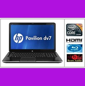 New HP Pavilion dv7t-7200 QUAD 17.3