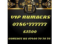 Vip Gold Mobile Number 777777