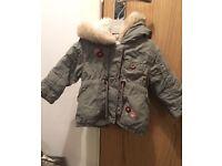 2 girls coats 3-6 months £5