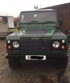 Land Rover defender 200tdi rebuilt on Galvanised chassis.