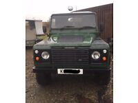 Land Rover Defender 90. 200tdi Rebuilt on Galvanised chassis.