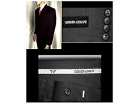 GIORGIO ARMANI SURPLUS SUITS BRAND NEW WITH TAGS MANCHESTER. SIZE: UK 48/32. EUR: 48 £149.99