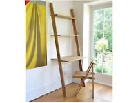 Oak Ladder Desk and free Office Chair