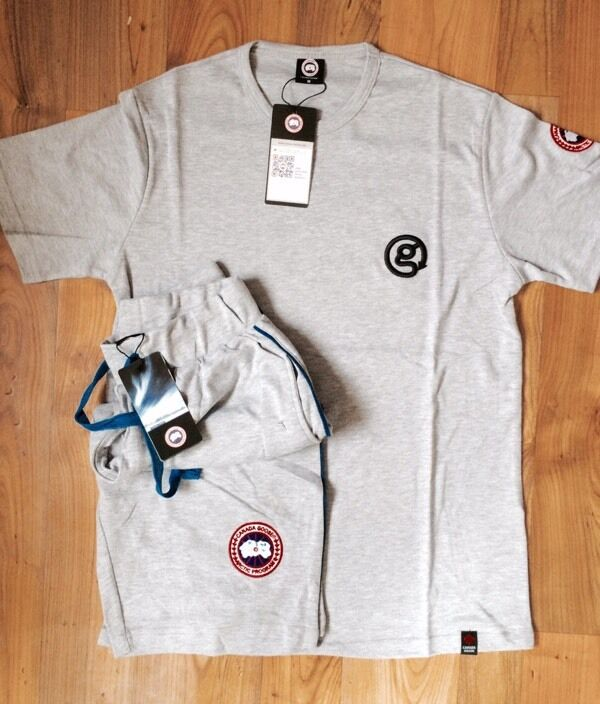 Canada goose shorts t shirt grey medium in liverpool for Canada goose t shirt