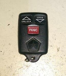 Dodge remote keyless entry key FOB  (GQ43VT7T)