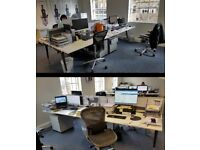 Urgent - Last Call- Very Cheap office desks, chairs, phones, desk filing cabinets for sale