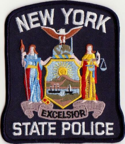 NEW YORK STATE POLICE - SHOULDER PATCH - SEW-ON PATCH
