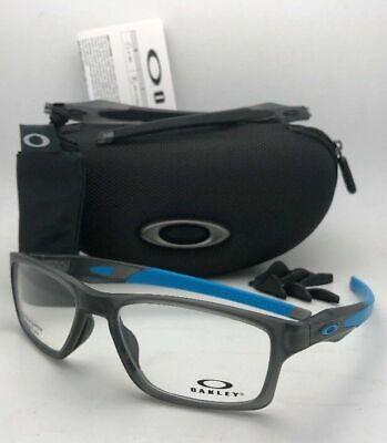 OAKLEY Eyeglasses CROSSLINK MNP OX8090-0255 Grey Smoke w/Interchangeable Temples
