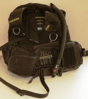 POSEIDON TECH LIFT Large BCD Scuba Dive Salisbury Brisbane South West Preview