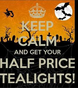 Partylite Tealights Half Price On Line Only Oct. 28-30 No Limit Prince George British Columbia image 1