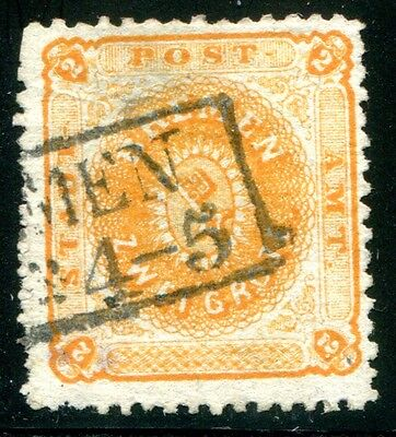 BREMEN 1866 10a gestempelt BEFUND BPP 450€(Z2296