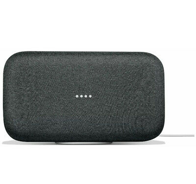 Google Home Max USB Bluetooth Smart Speaker with Google Assistant - Charcoal