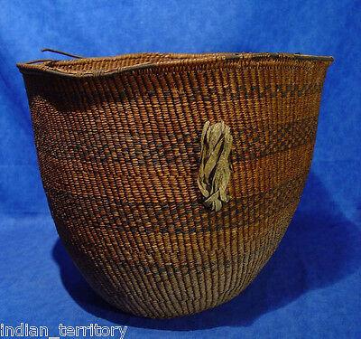 Large Antique Apache Indian Burden Basket c.1880