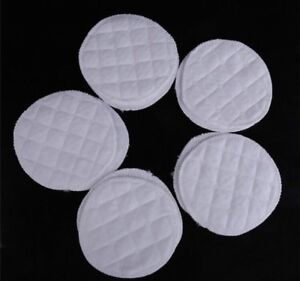 Reusable make up remover wipes, facial cleanser pads Washable 100% cotton White