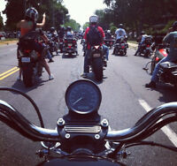 Motorcycle Riding Friends