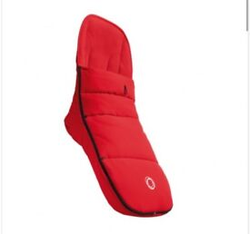 Bugaboo red footmuff