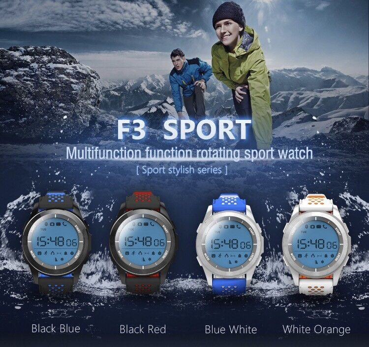IP68 smart watch sleep monitor pedometer sport fitness iOS android Bluetooth brand new