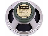 Celestion G12M 25W Greenback guitar speaker