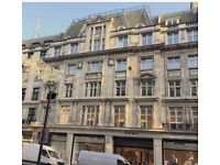 REGENT STREET Private Office Space available on Managed basis in W1B | 2 - 88 people
