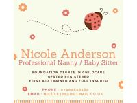 Are you looking. For help in childcare a nanny or babysitter?
