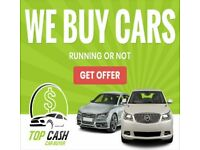 SCRAP CARS WANTED TOP PRICES PAID CASH SAME DAY !