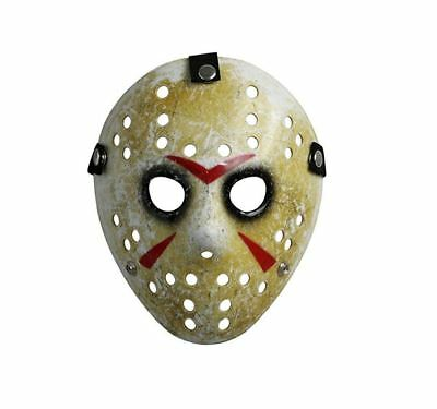 Horror Mask Friday The 13th Costume Prop Hockey Mask Jason for Kids Halloween US
