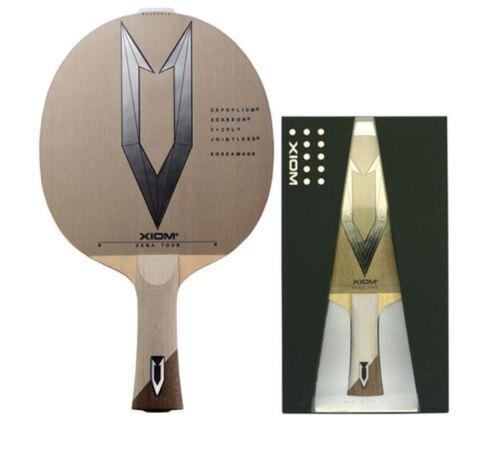 Xiom Vega Tour FL,ST Shakehand Blade Table Tennis , Ping Pong Racket, Bat