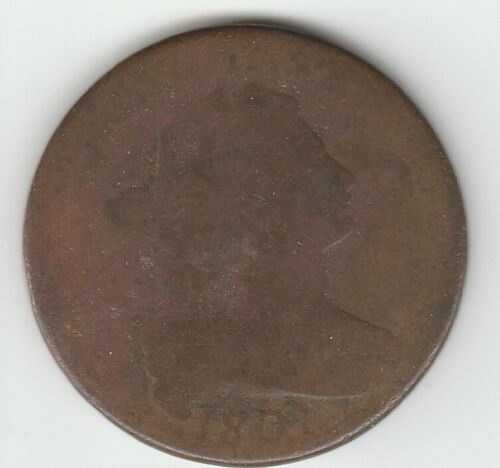 1801 3 Errors About Good AG Draped Bust US Large Cent 1C