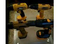 Dewalt Drills including batteries