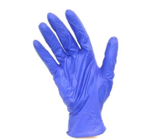 Cool Blue Nitrile Powder-Free Examination Gloves (all sizes, 3mil+/-, 200/box)
