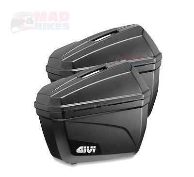 Givi E22N Monokey Motorcycle Pannier Luggage Cases ( A Pair )