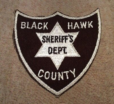 IA Black Hawk County Iowa Sheriff Patch