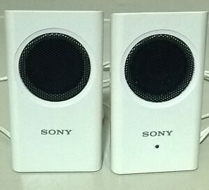 Sony Portable Travel Speakers SRS-M30 White
