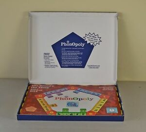 PHONOPOLY: A PHOENETICS TEACHING BOARD GAME