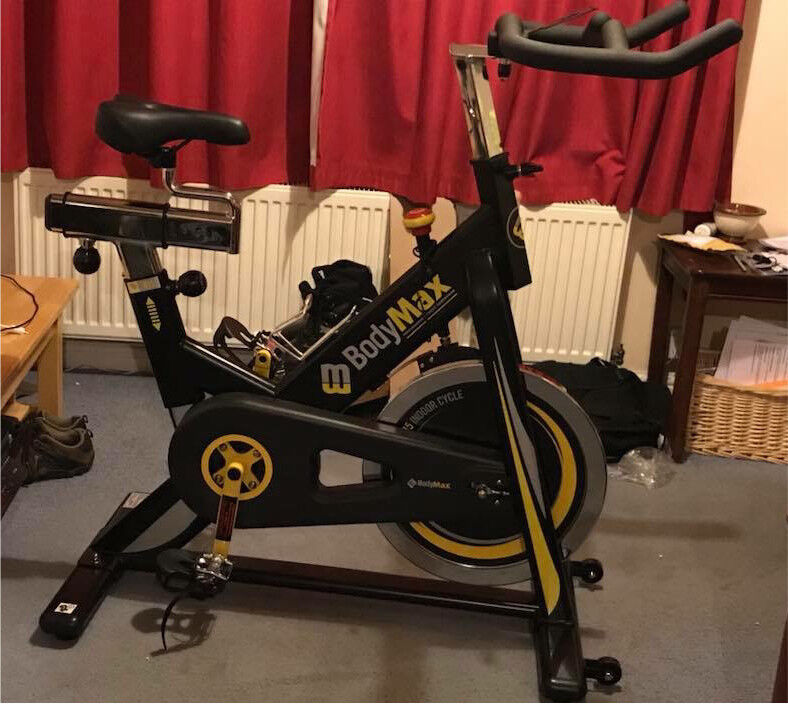 Bodymax B15 Spin Bike - As New.