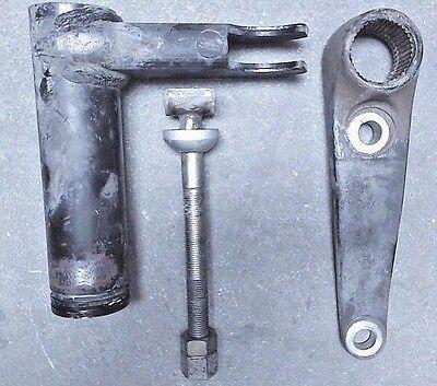 1986-97 Nissan Pickup Torsion Bar Arm Torque Arm Anchor Bolt Left , - Torque Bar Arm