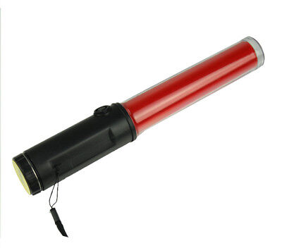 Police Traffic Control Led Red Light Wand Baton Magnet