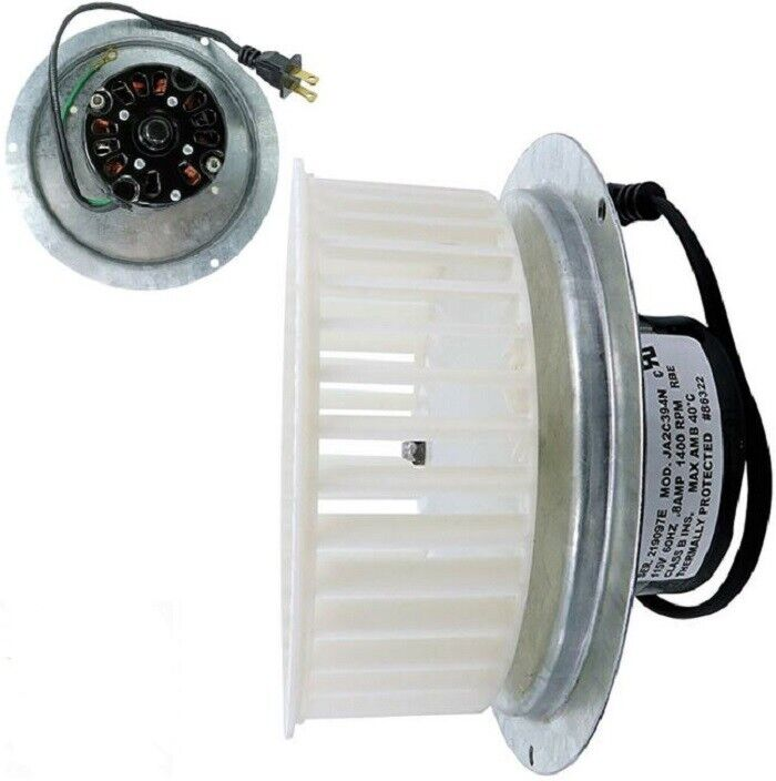 Blower Wheel Blade Motor Assembly NuTone QT100 QT110 Bathroo