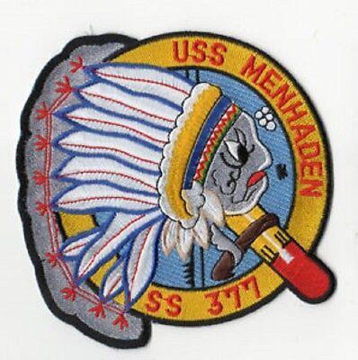 US NAVY USS MENHADEN SS 377 SHIP Navy MILITARY PATCH