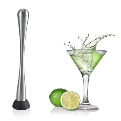 Popsicle Cocktails (Cocktail Mint Muddler Stick Stainless Steel Bar Broken Popsicle Mojito Tools)