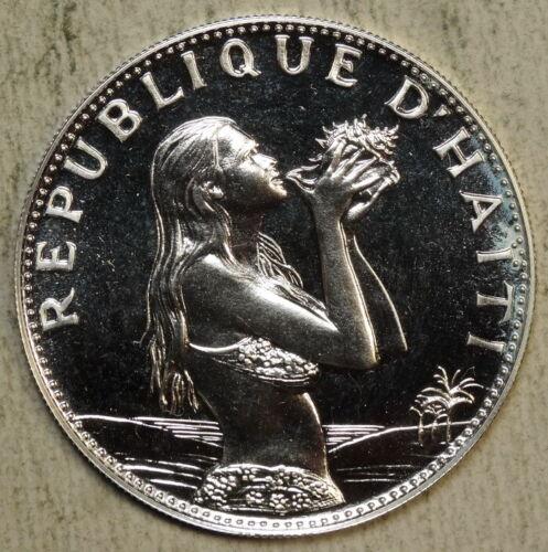 Haiti 50 Gordes 1973, Original Proof, Very Scarce   0411-19