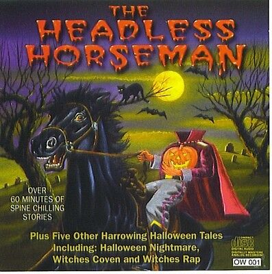 The Headless Horseman 1996 cd Halloween music Jack Dorsey Witches Rap ++ witch's